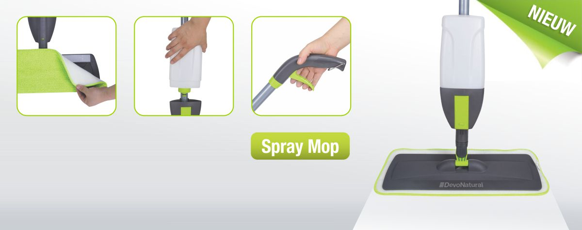 DevoNatural Spray Mop